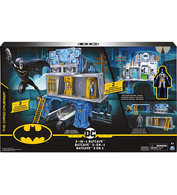 3-in-1 Batcave DC Comics