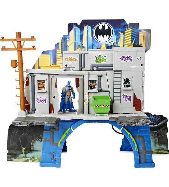 3-in-1 Batcave DC Comics