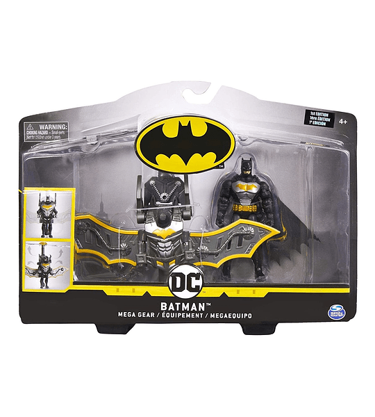 Batman Mega Gear DC Comics