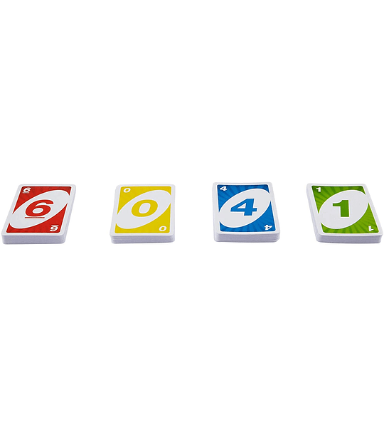 UNO clasico con comodines personalizados juego de cartas Mattel