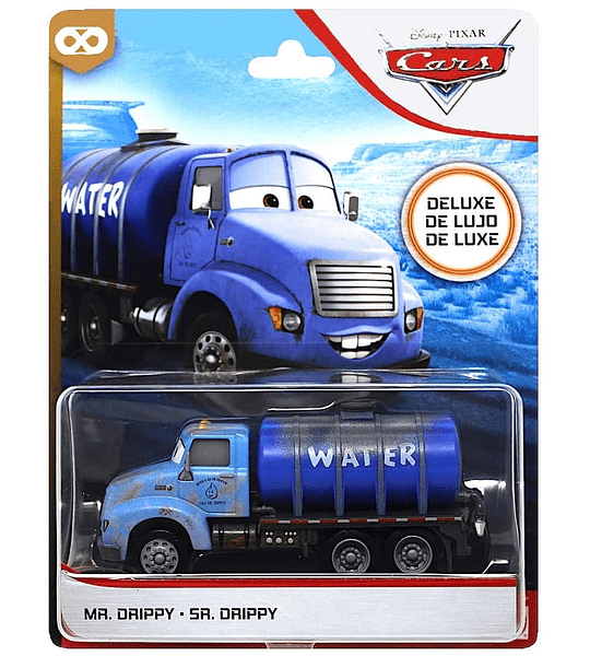 Mr. Drippy Sr. Deluxe Disney Cars Diecast