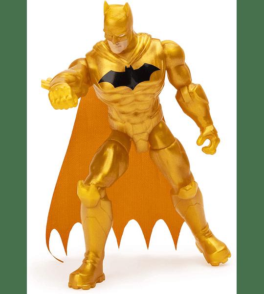 Batman Defender DC Comics Figura de Acción 10 cm 3 Accesorios sorpresas
