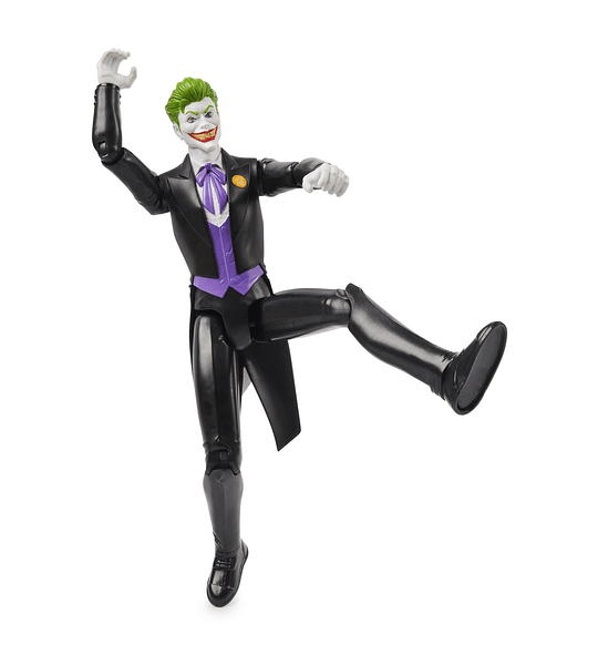 The Joker DC Comics traje Negro 30 cm