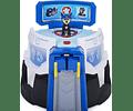 Rampa de lanzamiento Moto Pups con sonidos y figura Chase Paw Patrol