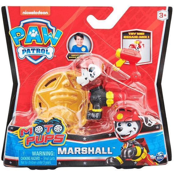 Marshall figura mas insignia Moto Pups Paw Patrol