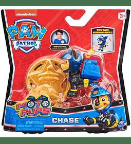 Chase figura más insignia Moto Pups Paw Patrol