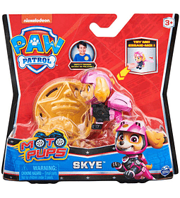 Skye figura más insignia Moto Pups Paw Patrol