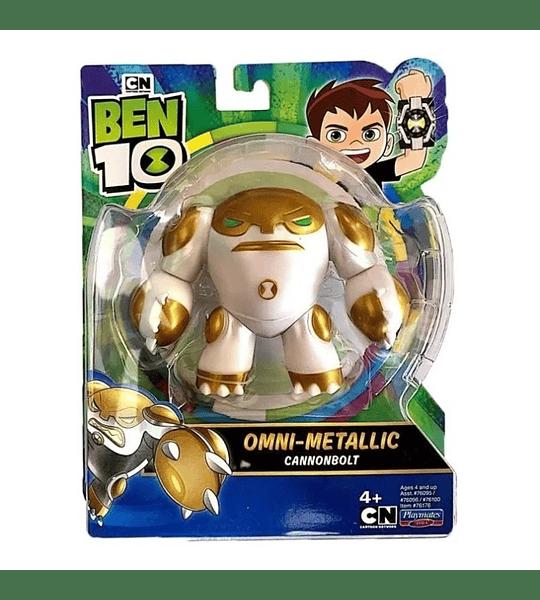 Cannonbolt Omni-Metálicos Ben 10 Aliens