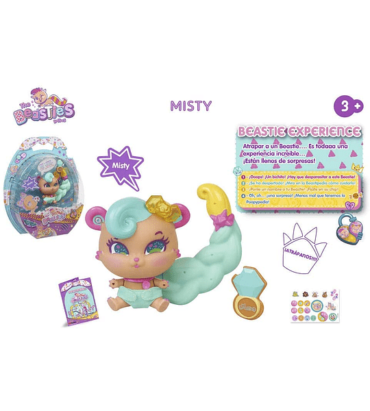 Misty Amigo Mascota The Bellies