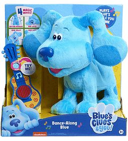 Blue's Clues & You! Las Pistas de Blue y tu, Dance Along Blue Felush Multicolor