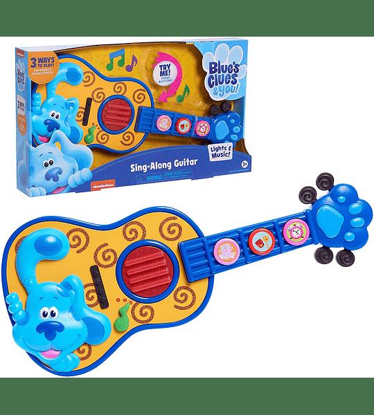 Blue's Pistes & You Las Pista de Blue y tu, Canta con la Melodia de la guitarra