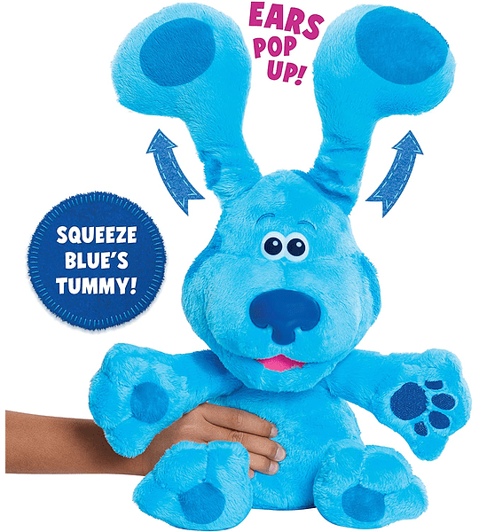 Peluche de Felpa de Blue's Clues & You! Peek-A-Blue