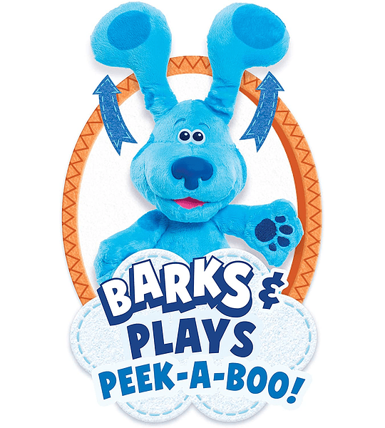 Peluche de Felpa de Blue's Clues & You! Peek-A-Blue