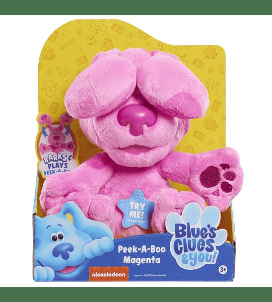 Peluche de Magenta Blue's Clues & You! Peek-A-Boo