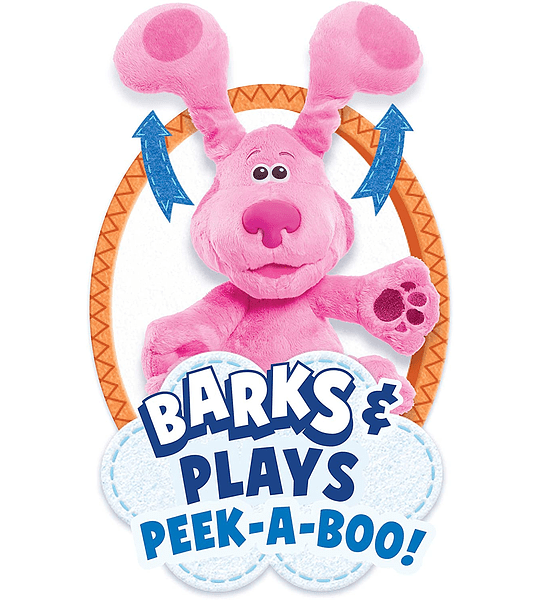 Peluche de Magenta Blue's Clues & You! Peek-A-Boo