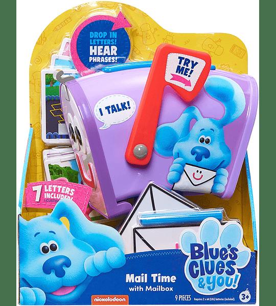 Tiempo de correo con buzón Blue's Pistes & You!