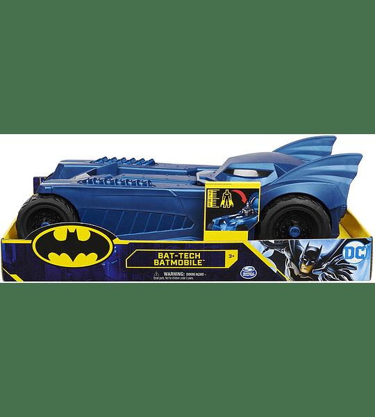 Batmovil Bat Tech, DC Comics Azul Escala 30cm