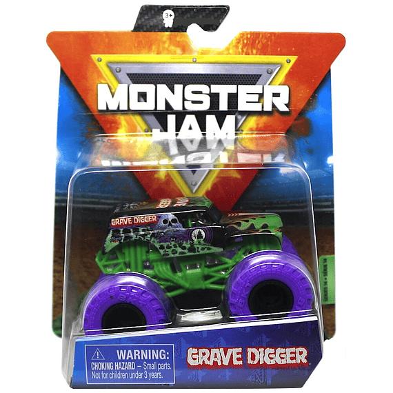 Grave Digger Purpura Monster Jam