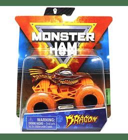 Dragon Orange Monster Jam Truck 1/64