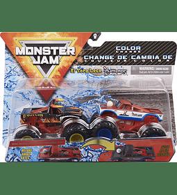 El Toro Loco vs. Cyclops cambian de color Monster Jam, 1:64 Scale