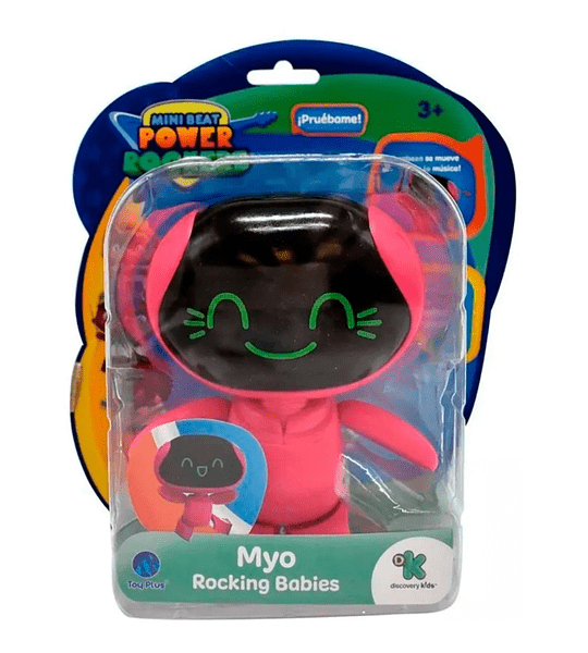 Myo Con Sonido Mini Beat Power Rockers