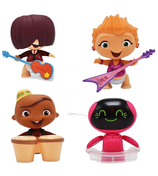 Wat Mini Beat Power Rockers Con Instrumentos