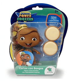 Carlos Mini Beat Power Rockers Con Instrumentos