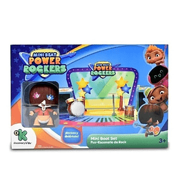 Fuz Mini Beat Power Rockers Con Escenario de Rock 3D