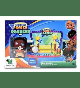 Fuz Mini Beat Power Rockers Con Escenario de Rock 3D