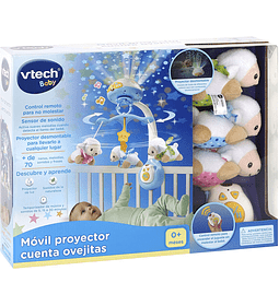 Móvil Proyector Cuenta Ovejitas VTech