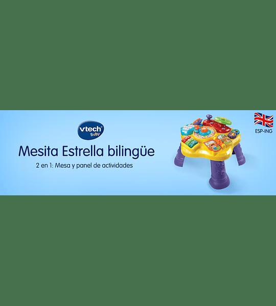 Mesita Infantil Estrella Bilingüe VTech