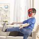 Máscara Spider-Man Marvel