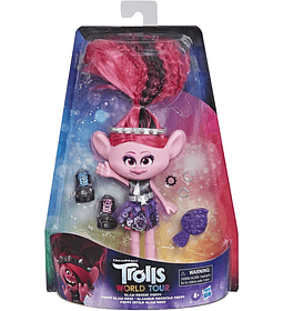 Poppy Estilo Glam Rock Trolls DreamWorks