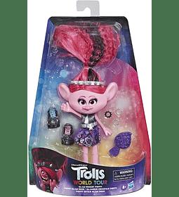 Poppy Estilo Glam Rock Trolls DreamWorks