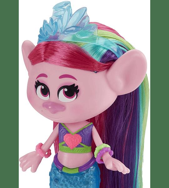 Poppy Sirena Tecno DreamWorks Trolls