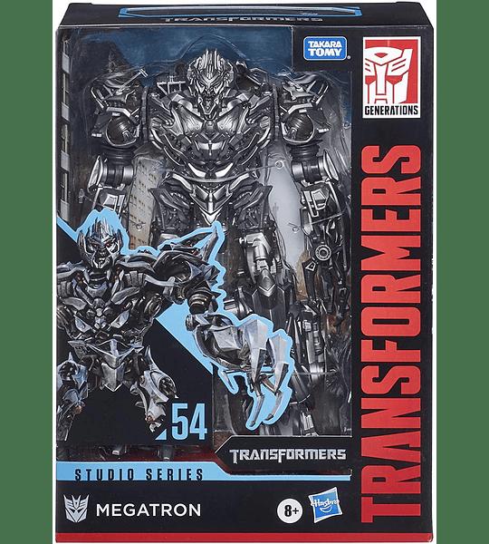 Megatron Transformers robot y jet cibertroniano Toys Studio Series 54