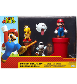 Set Diorama mazmorra Super Mario Bross