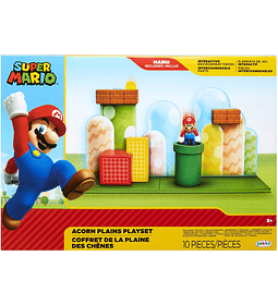 Set Bellota Llanuras Super Mario Nintendo