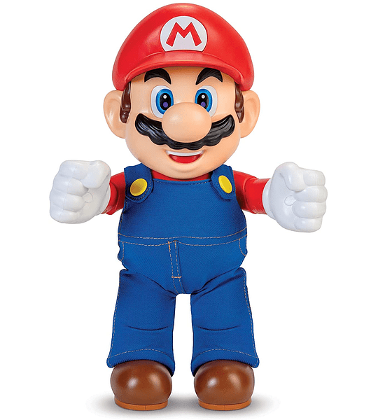 Figura de acción que habla Super Mario World of Nintendo It's-A Me!
