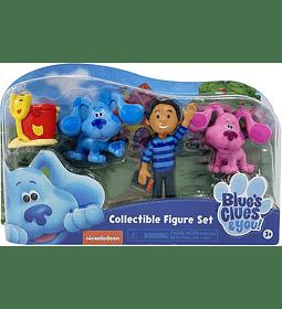 Set de 4 Figuras de Coleccion de Blue's Clues & You!