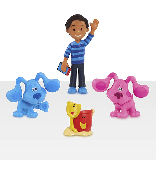 Set de 4 Figuras de Coleccion de Blue's Clues & You!