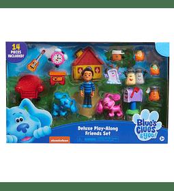 Set de 14 Figuras de Coleccion de Blue's Clues & You.