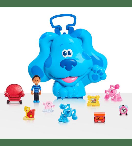 Set de 10 Figuras con Maleta para transportar de Blue's Clues & You!