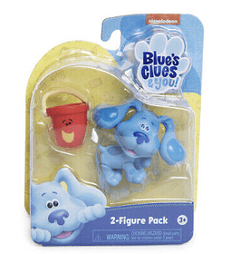Blue y Pail Pack de Figuras Blue's Clues & You!.