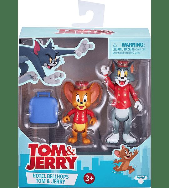 Hotel Bellhops Tom & Jerry Pack de 2 Figuras