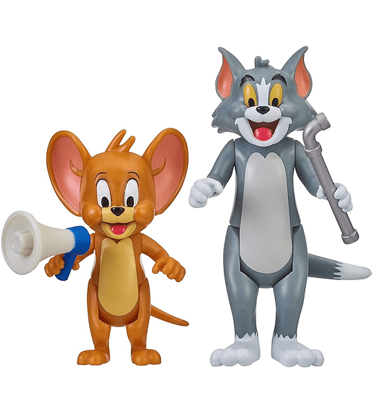 Movie Moments Tom & Jerry pack de 2 Figuras