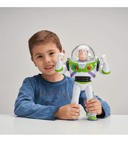 Buzz Lightyear mas de 20 Frases y Sonidos, voz Original