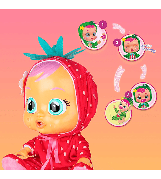 Ella Tutti Frutti Bebés Llorones con Aroma