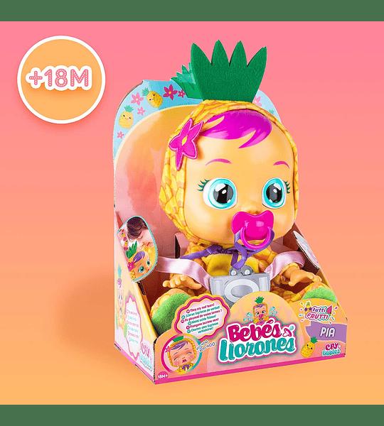 Pia Tutti Frutti Bebés Llorones con Aroma Piña
