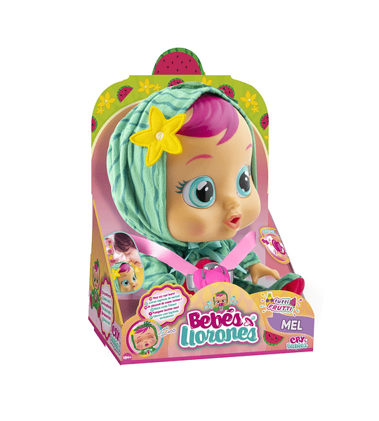 Mel Tutti Frutti Bebés Llorones con Aroma
